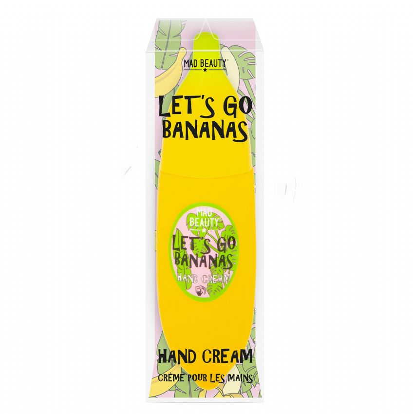 Let's Go Bananas Banana Scented Hand Cream 45ml (1 Supplied)